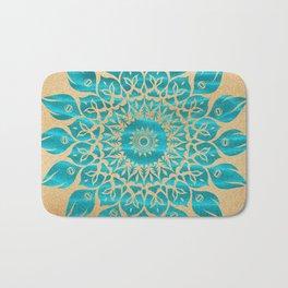 Summer Mandala Bath Mat