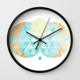 Sing To The Sun Wall Clock