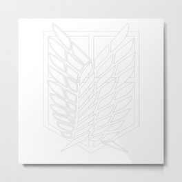 Survey Corps Metal Print