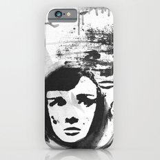 Audrey on a stencil iPhone 6s Slim Case