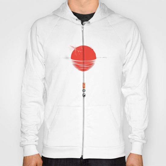 "Japan relief poster/all proceeds will go to ""Peace Winds"" Hoody"