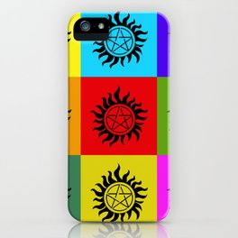 Supernatural Color Block iPhone Case