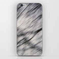 Blurry Tree Branches  iPhone & iPod Skin