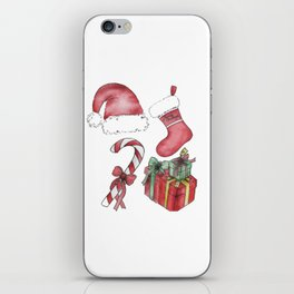 Christmas Items iPhone Skin