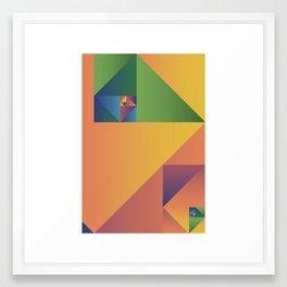 1.618... Framed Art Print