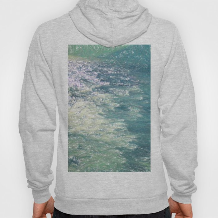 Sea Painting Maravellous Effect with brushes Hoody