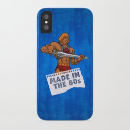 "Masters of the Universe He-Man ""Made in the 80s"" iPhone Case"