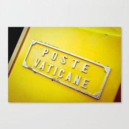 Poste Vaticane Canvas Print
