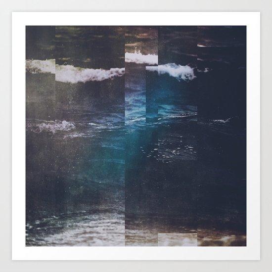 Fractions A34 Art Print