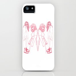 Beatrix and mallory: NYC muses iPhone Case