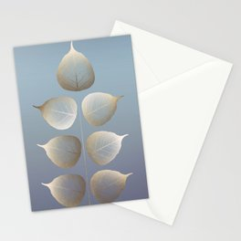 Golden daybreak Stationery Cards