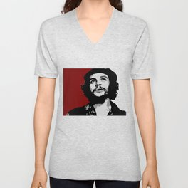 Ernesto Che Guevara smile Unisex V-Neck