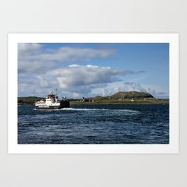 Ferry to Iona Art Print