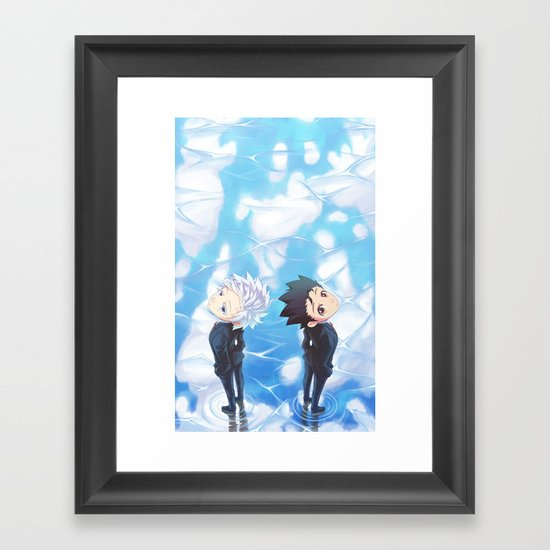 Ending Framed Art Print
