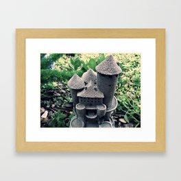 Garden Castle  Framed Art Print