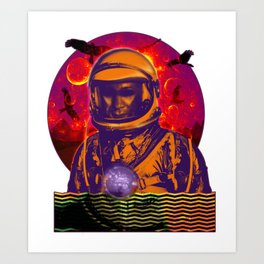 Not of This Earth Art Print