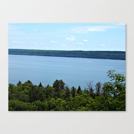 Perfect Day on Lake Superior Canvas Print