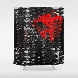 DarkHeart Shower Curtain