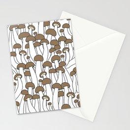 Beech Mushrooms Stationery Cards