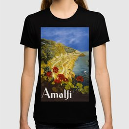 Vintage Amalfi Italy Travel T-shirt