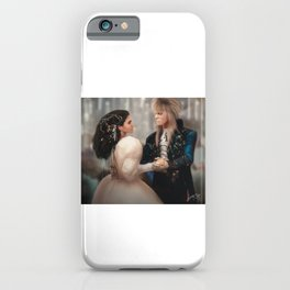 Labyrinth of Love (Digital Drawing) iPhone Case