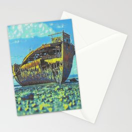 Shipwreck II Stationery Cards