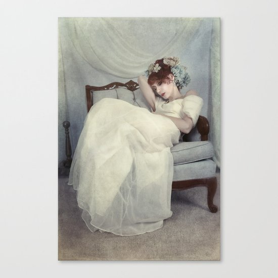 Sleeping Through the Dull Fete Canvas Print