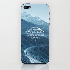 NOT SHAKEN iPhone & iPod Skin