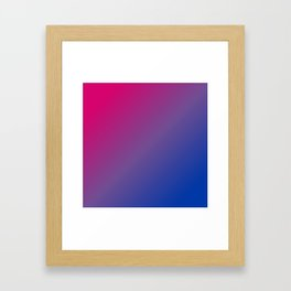 Bisexuality Framed Art Print