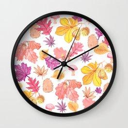 Autumn Medley Wall Clock