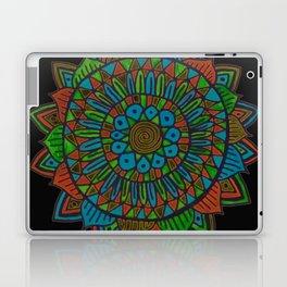 Glow Doodle Mandala Laptop & iPad Skin