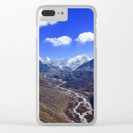 Himalayan Valley Clear iPhone Case