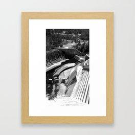 Hinze Dam 2 Framed Art Print