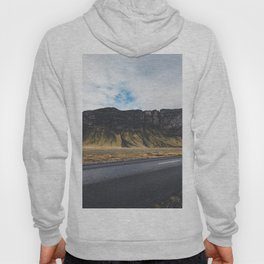 A Mountain on the Left. Iceland Landscape. Roadtrip Travel. Photography. Hoody