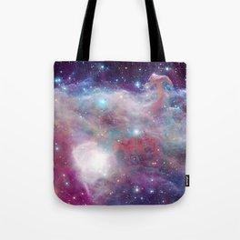 Eagle Nebula Horsehead Nebula Pastel Tote Bag
