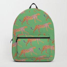 Leopard - Orange Backpack