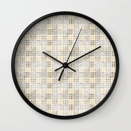 Classical beige cell. Wall Clock