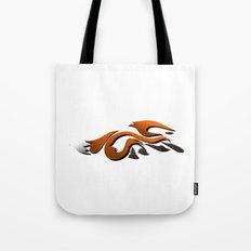 Graffiti Fox Tote Bag