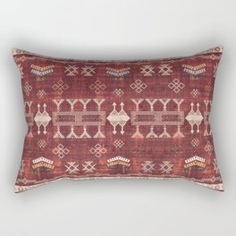N252 - Bohemian Oriental Heritage Berber Moroccan Style Rectangular Pillow