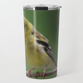 Immature American Goldfinch Travel Mug