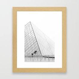 Big Job Framed Art Print