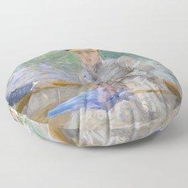 Summer's Day by Berthe Morisot Floor Pillow