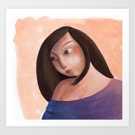 Valerie Art Print