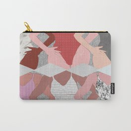 My Thighs Rub Together & I'm OK With That - Positive Body Image Digital Illustration Carry-All Pouch