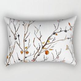 Graphic art, leaves, trees, autumn Rectangular Pillow
