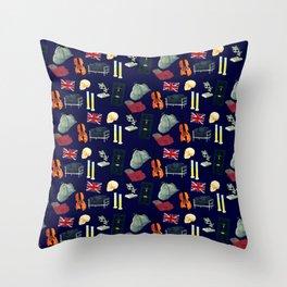221B Baker Street version 2 Throw Pillow