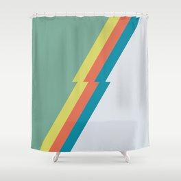 spring rock Shower Curtain