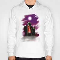 dracula Hoodies featuring Dracula by JT Digital Art