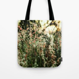Flowers in the sun Tote Bag