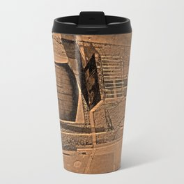 old house in sepia Travel Mug